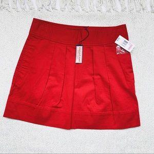 NWT Vineyard Vines Red Mini Skirt